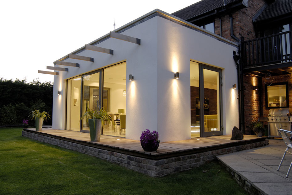 Private residence in Poulton-le-Fylde, Lancashire, designed by Mellor Architects