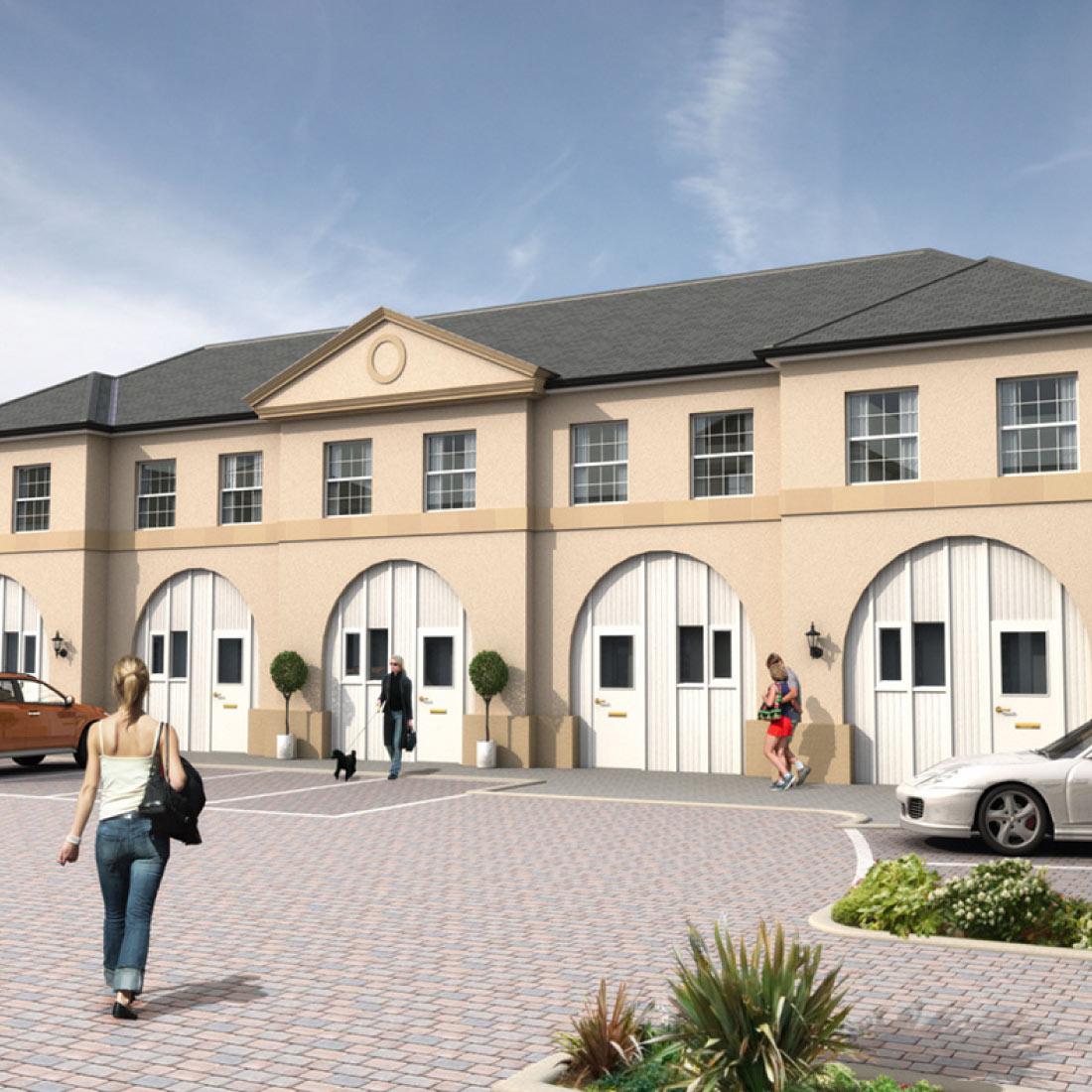 The Courtyard, Axwell Park, Blaydon-on-Tyne